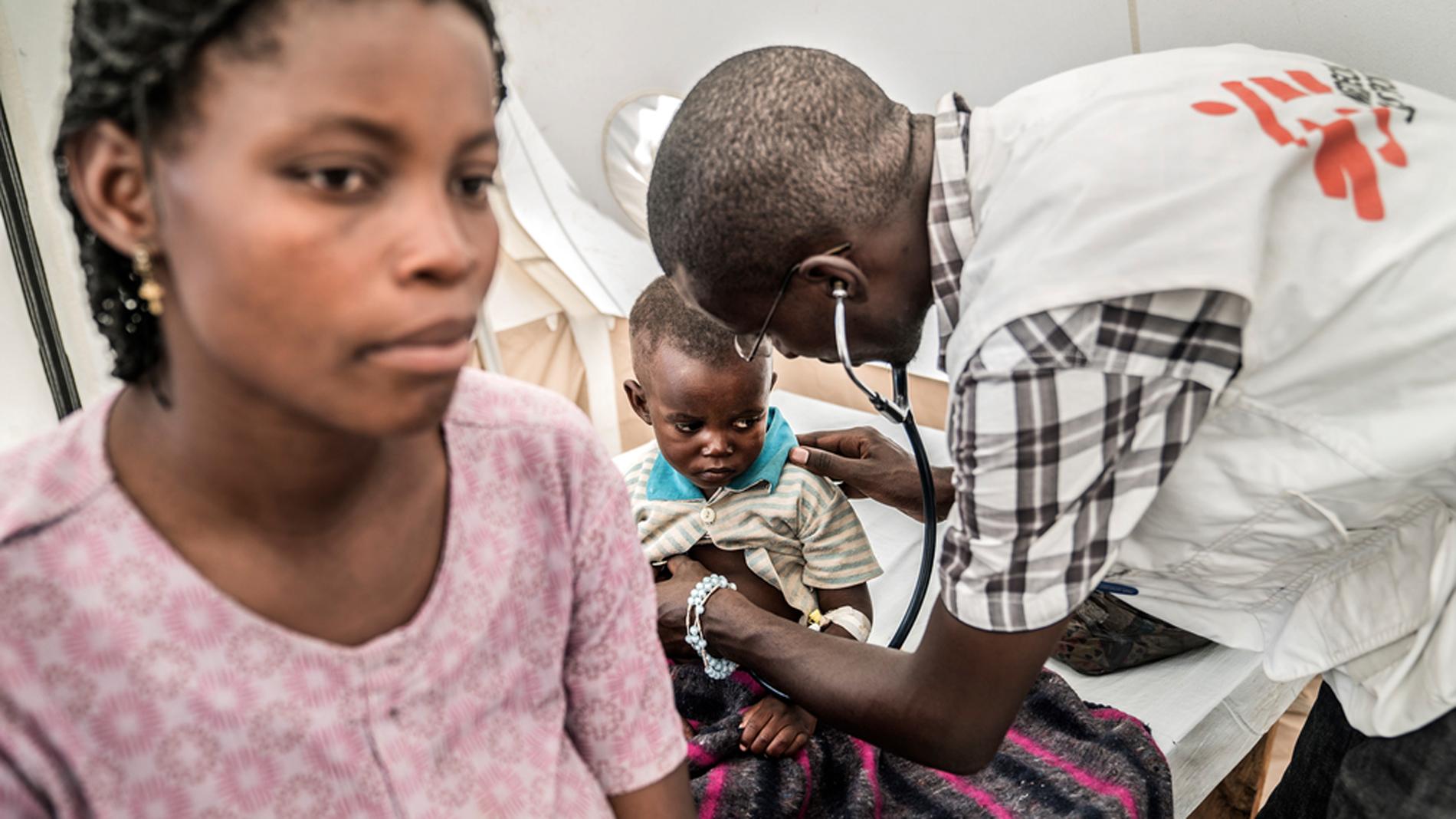 Innocent Kunyuwana: así vive un doctor en R.D. Congo