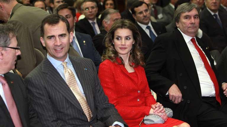 Los Príncipes acaban hoy su visita oficial de tres días a Portugal