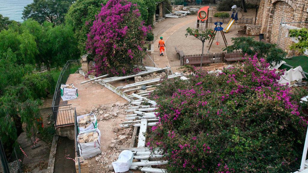 Una intensa tormenta causa estragos en Tarragona