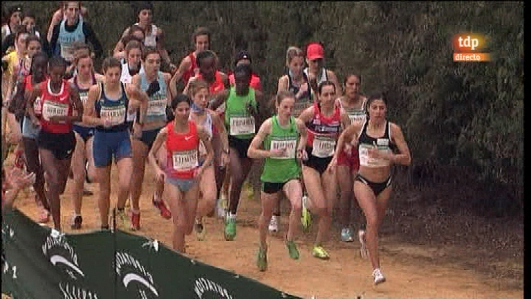 Cross Internacional de Itálica - Carrera femenina - 15/01/12