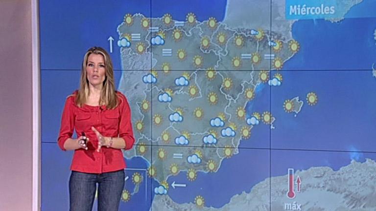 Intervalos nubosos en Galicia, Castilla y León, Andalucía y Extremadura
