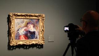 La intimidad de Renoir se expone en el Museo Thyssen, en Madrid