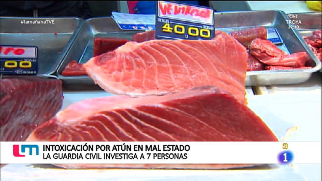 Intoxicación por atún en mal estado