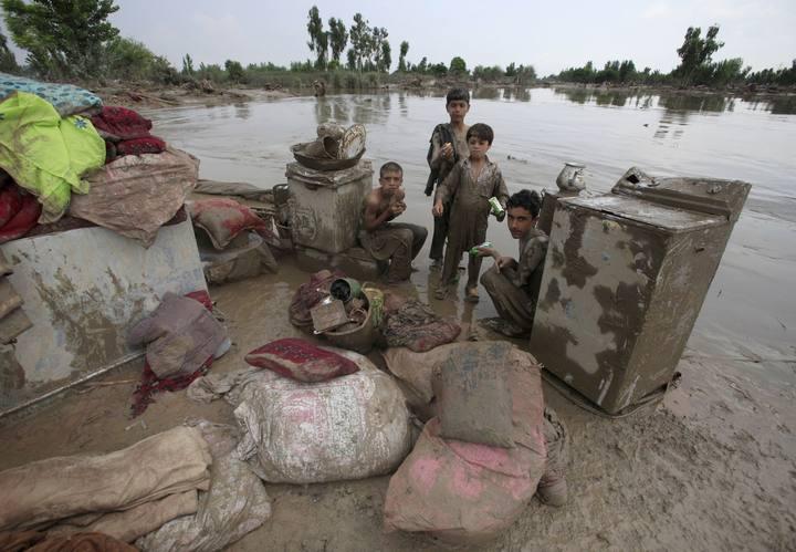 Más de 1.100 muertos y 2,5 millones de afectados por las inundaciones en Pakistán 1280760500359