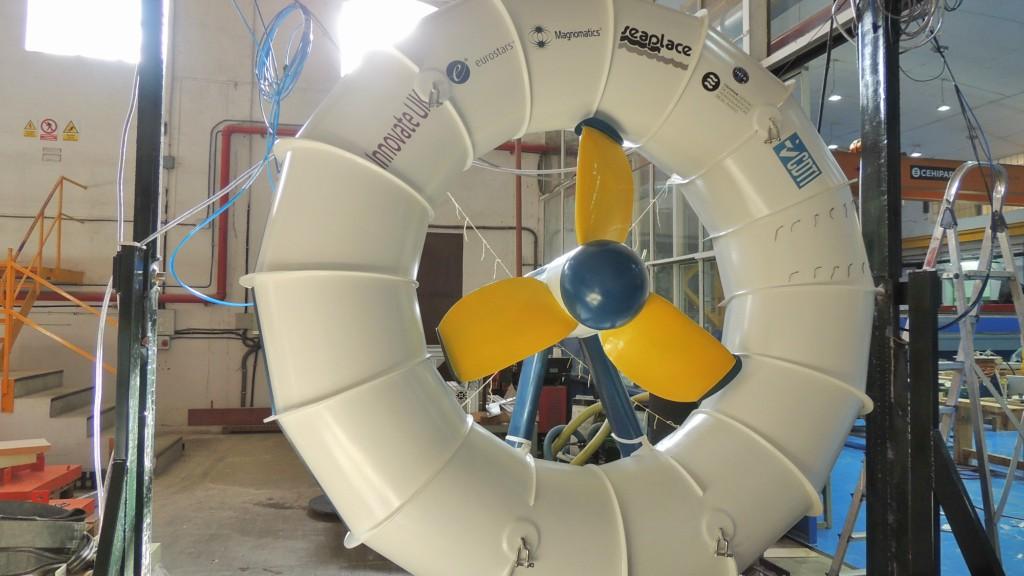 Fábrica de ideas - Inventa: Turbina FTMC