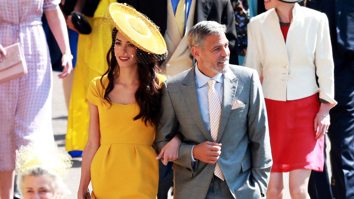 Los invitados llegan a la boda del príncipe Enrique y Meghan Markle
