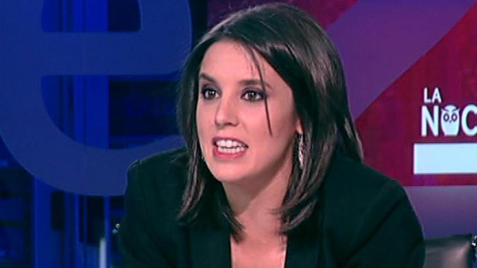 """Irene Montero (Podemos): """"El PSOE decidirá formar gobierno con Podemos"""" porque """"otra alternativa es imposible"""""""