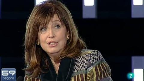 59 segons - Irene Rigau, consellera d'Ensenyament