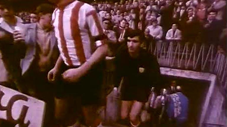 Iribar, 50 años de su debut en un Athletic - Málaga