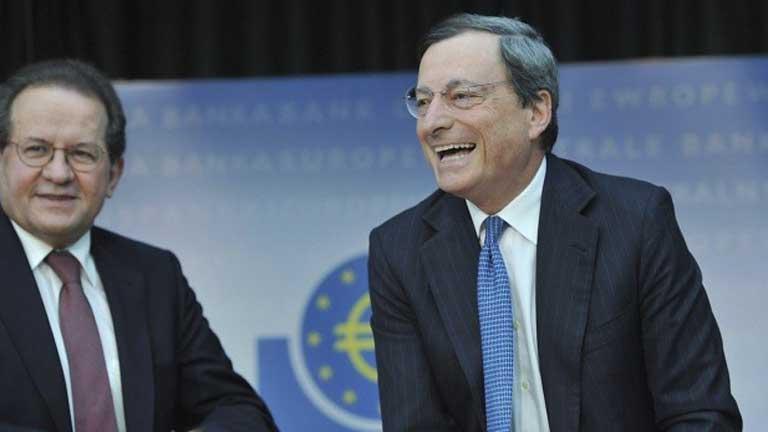 Draghi ha dicho hoy que el euro es  irreversible