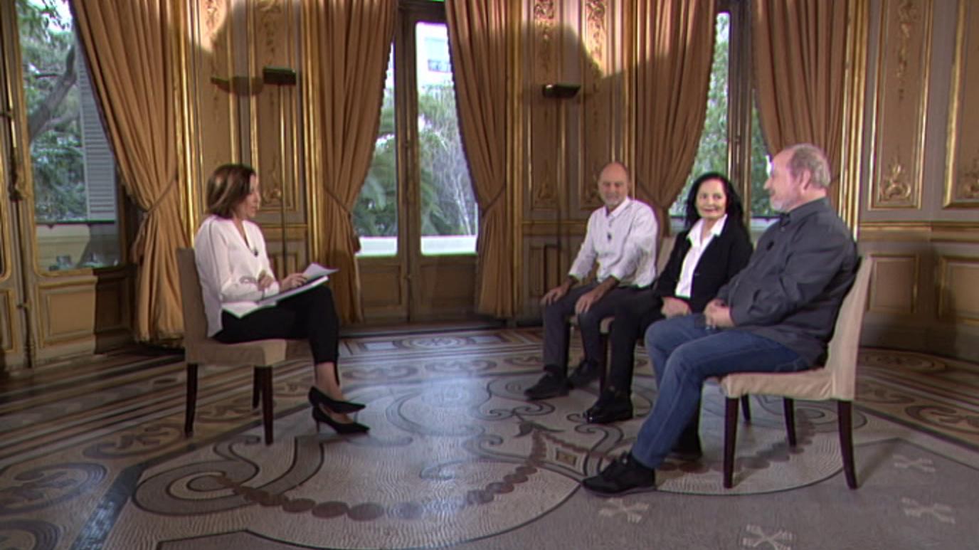 Conversatorios en Casa de América - Isabel Muñóz, José M. Mellado y Héctor Garrido - 02/02/14