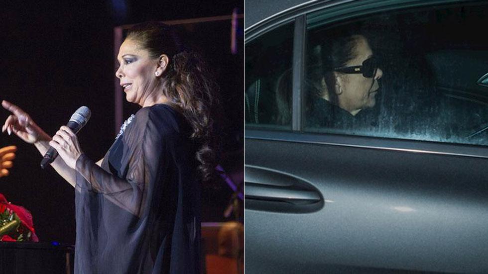 Isabel Pantoja termina en la cárcel un periplo que empezó en 2007