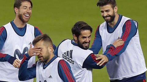 Isco, gran protagonista de la selección en Málaga