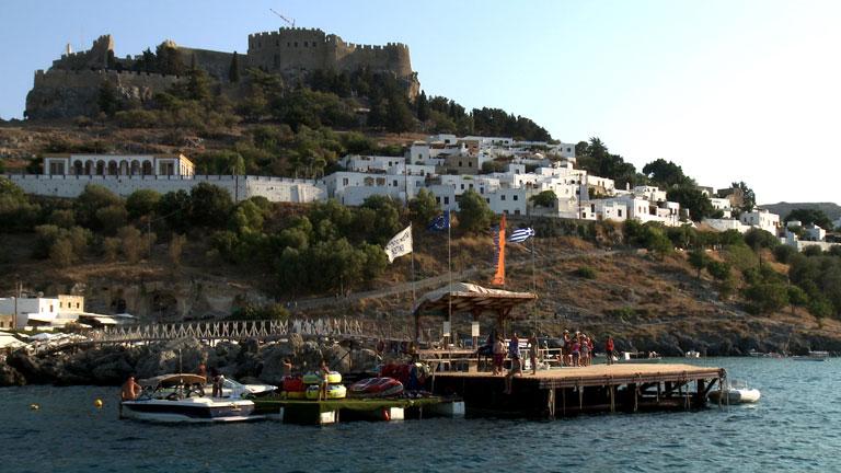 Españoles en el mundo - Islas griegas