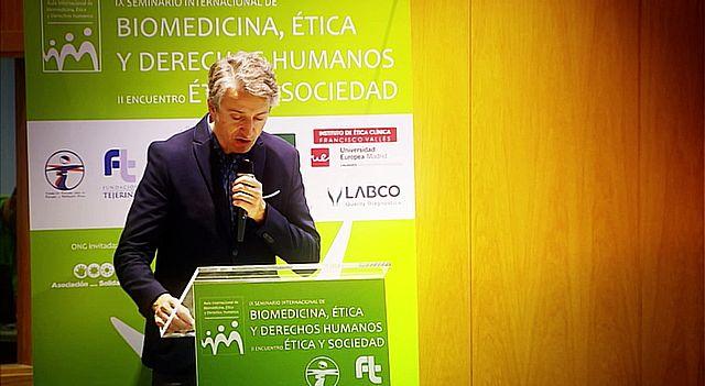 UNED - IX Seminario Internacional de Biomedicina, Ética y Derechos Humanos - 16/12/16