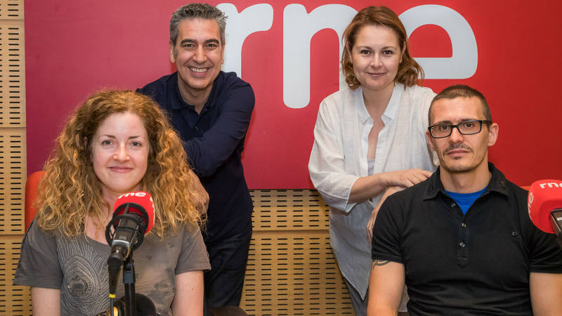 De izda. a drcha.: Arturo Martín, Carolina Aguado, María Gallay y Antonio Galán