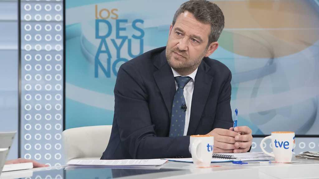 Los desayunos de TVE - Jaime de Olano, portavoz del Partido Popular en la Comisión de Presupuestos del Congreso