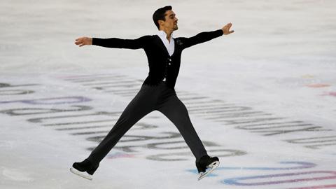 Javier Fernández brilla en Grenoble