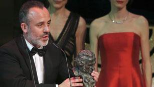 Javier Gutiérrez recibe el Goya 2015 a mejor actor protagonista por 'La isla mínima'