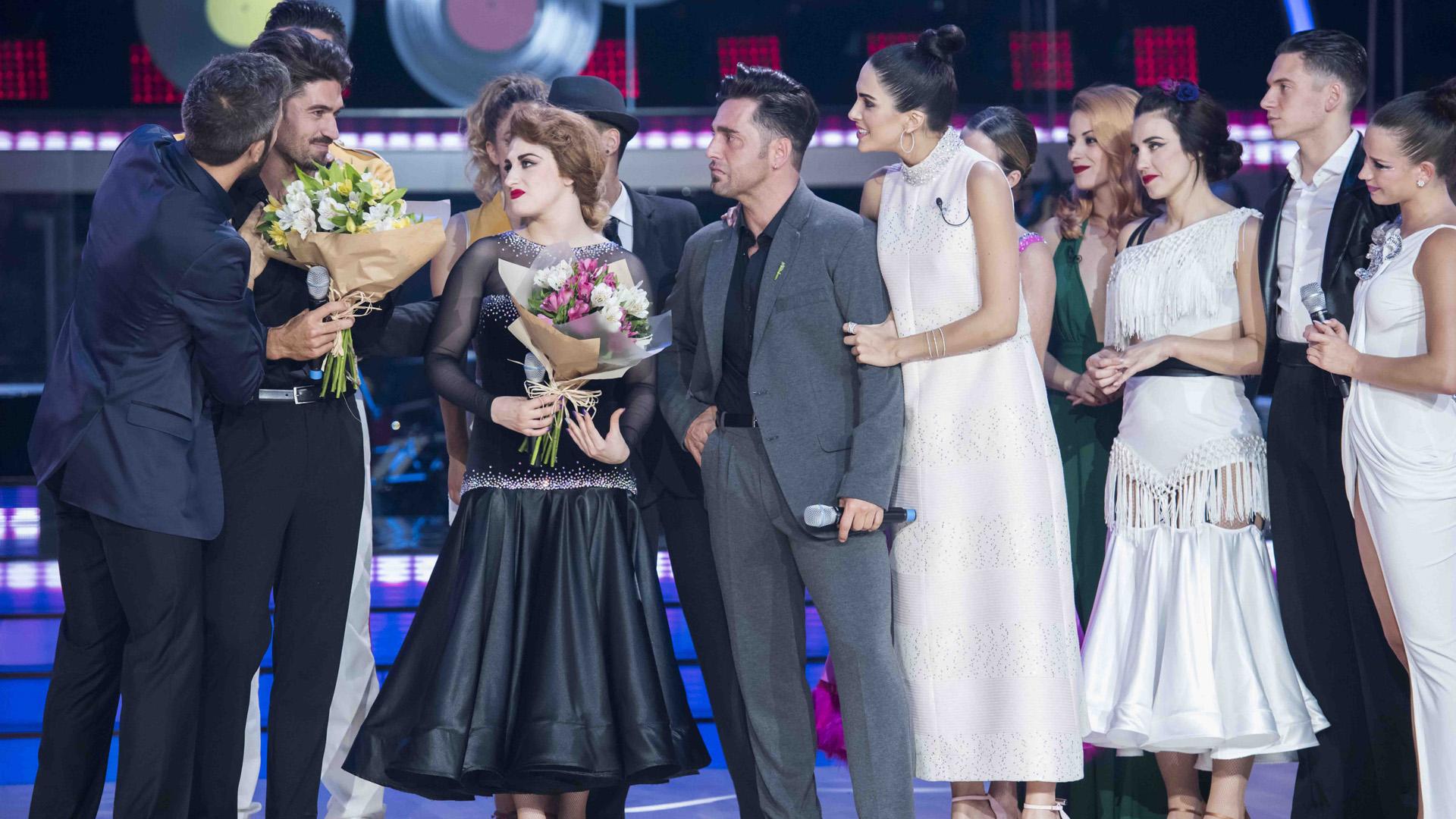 Bailando con las estrellas - Javier Hernanz y Rosa, octavos expulsados del programa