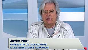 """Javier Nart (Ciudadanos): """"Somos la contestación del hartazgo ciudadano a la partitocracia"""""""