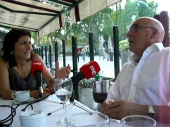 Con Javier Rojo
