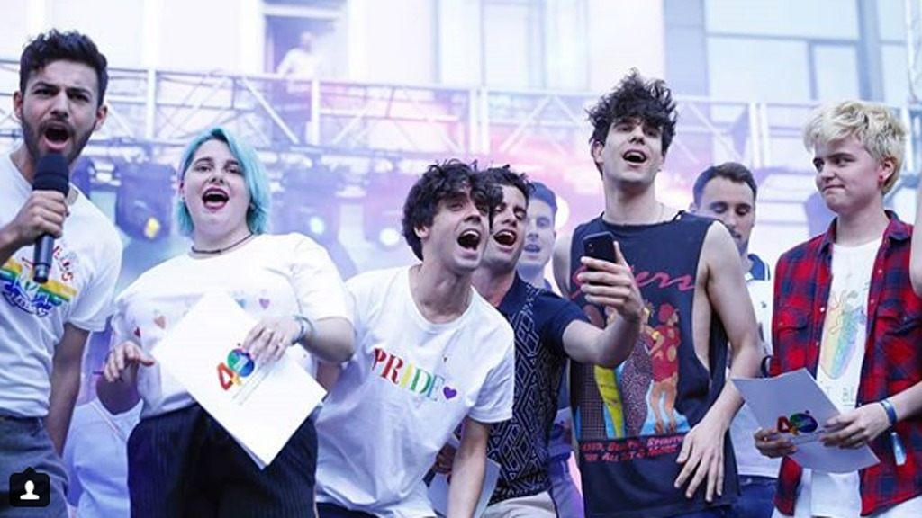 Corazón - Los Javis, Agoney y Marina, pregoneros del 'Orgullo 2018'