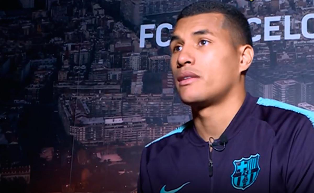"""Jeison Murillo: """"Seguir en el Barça depende de mí"""""""