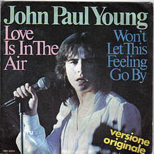 "John Paul Young ""Love is in the air"""