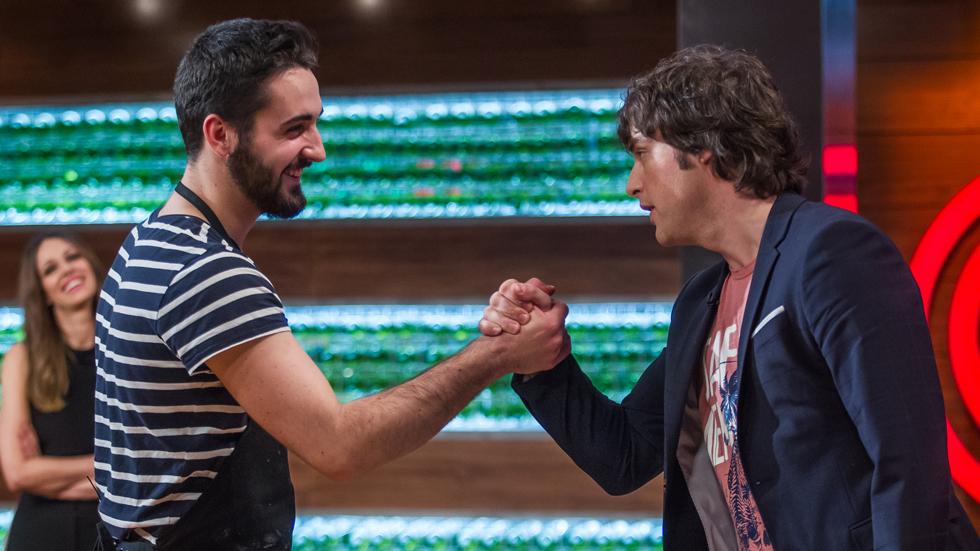 """MasterChef 4 -  Jordi a David: """"Estoy orgulloso de ti amigo"""""""