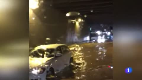 Jornada de tregua después de fuertes precipitaciones en Canarias