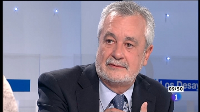 Los desayunos de TVE - José Antonio Griñán, Presidente de la Junta de Andalucía
