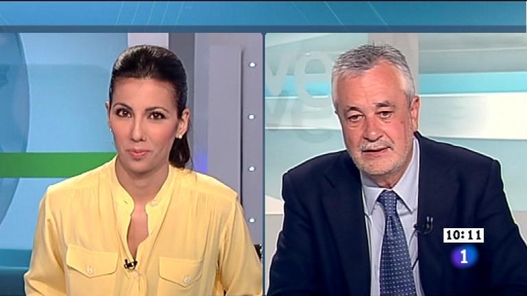 Los desayunos de TVE - José Antonio Griñán, candidato del PSOE a la Presidencia de la Junta de Andalucía