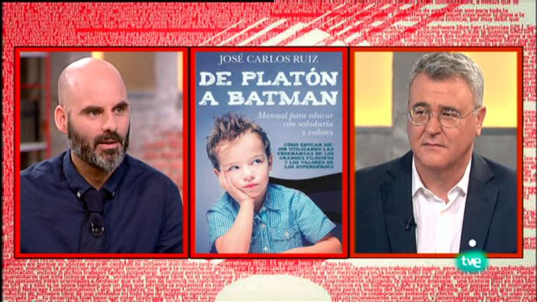 La Aventura del Saber. TVE. José Carlos Ruiz. 'De Platón a Batman'