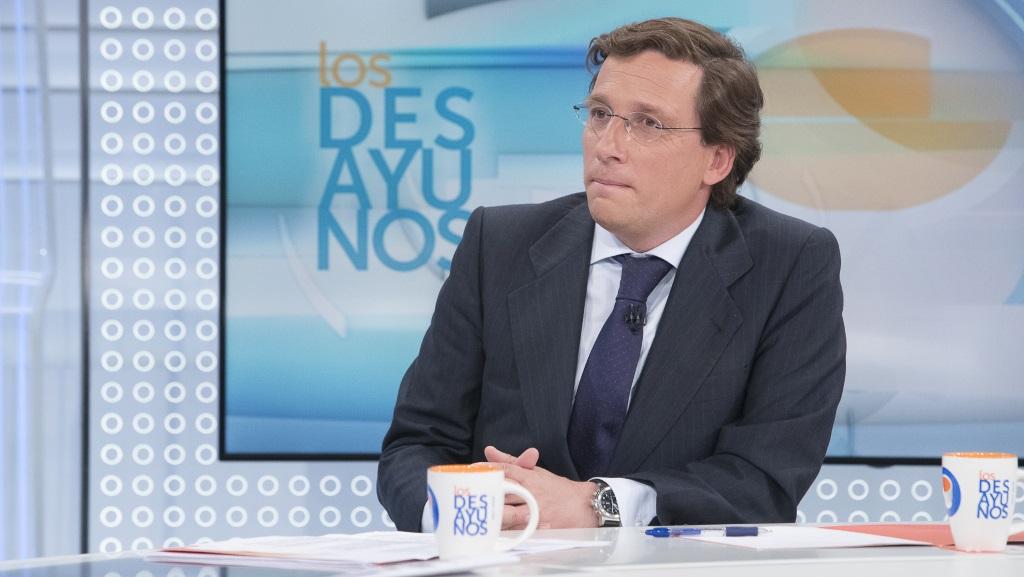 Los desayunos de TVE - José Luis Martínez-Almeida, portavoz del Partido Popular en el Ayuntamiento de Madrid