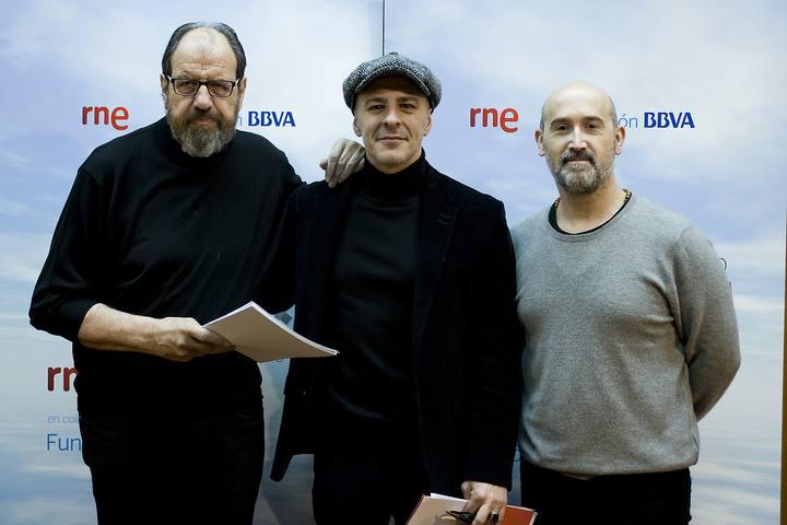 José María Pou, Roberto Álamo y Javier Cámara.
