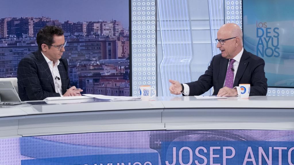 Los desayunos de TVE - Josep Antoni Duran i Lleida, expresidente de Unió Democrática de Cataluña