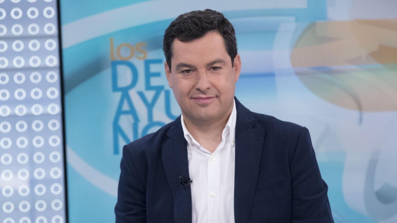 Los desayunos de TVE - Juan Manuel Moreno, presidente del PP de Andalucía