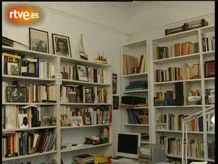 Juan Marsé, reportaje sobre su biblioteca