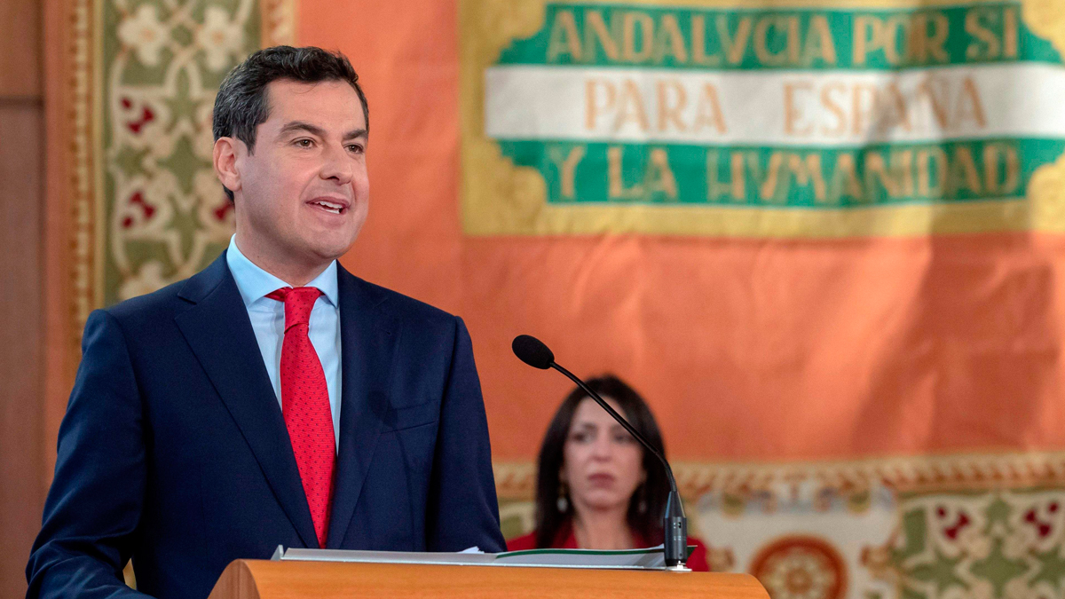 Juanma Moreno jura como presidente de la Junta de Andalucía