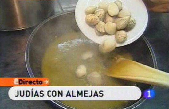 España Directo - Judías con almejas