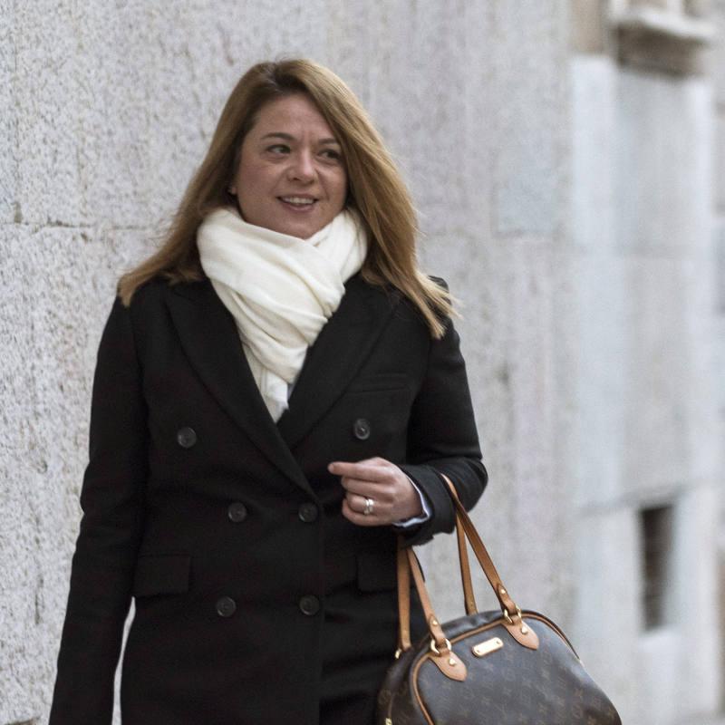 La juez Samantha Romero, ponente de la sentencia del caso Nóos