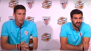Los jugadores del Athletic esperan que el Barça acuse el cansancio