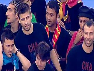 Ver vídeo  'Los jugadores del Barça hablan a la afición'