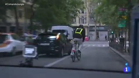 Comando actualidad - Jungla de asfalto: Fernando es taxista, ciclista y motero