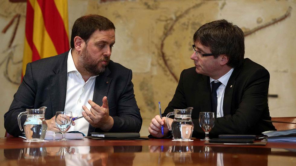 """Junqueras advierte a la CUP de las """"severas"""" consecuencias de no aprobar los Presupuestos de la Generalitat"""
