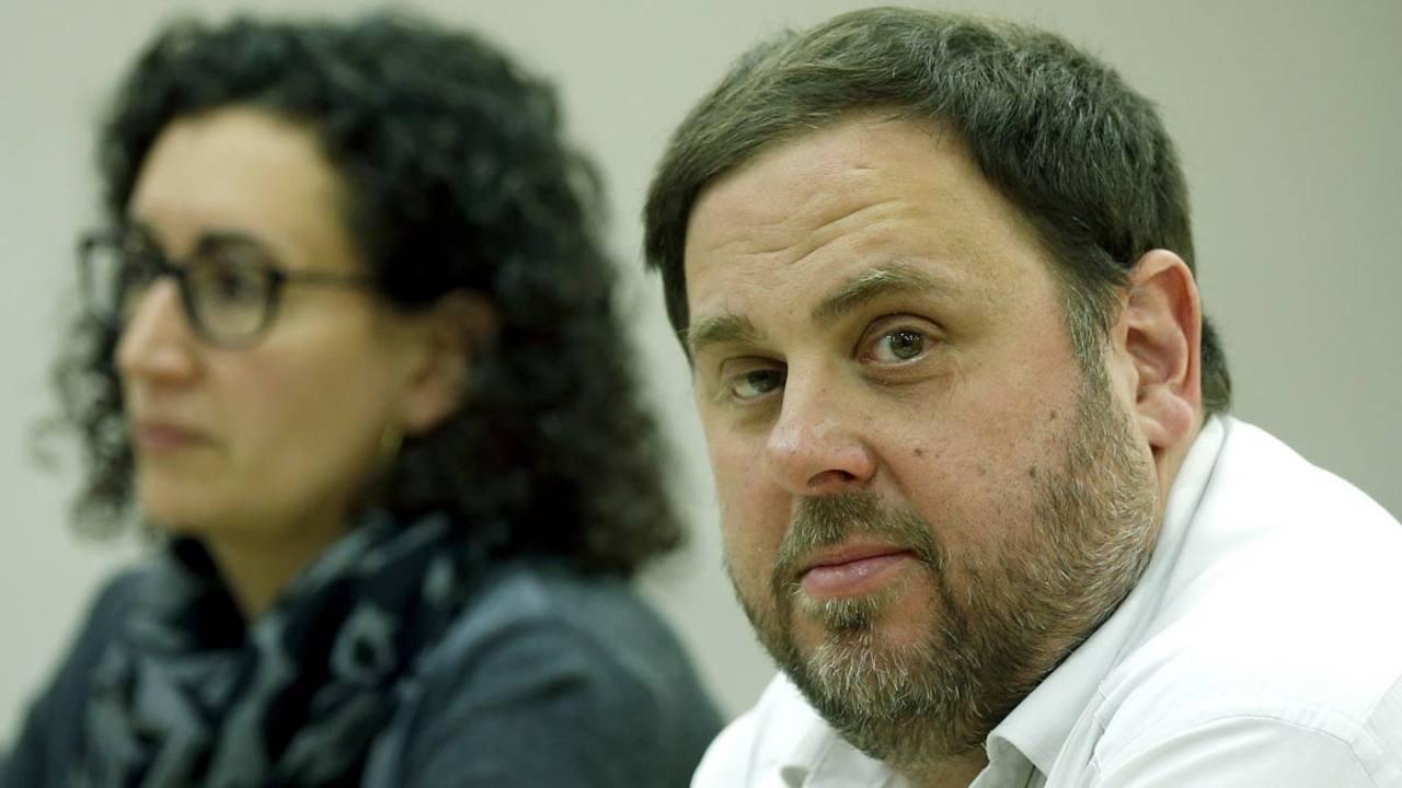 Junqueras, en la Ejecutiva Nacional de ERC.