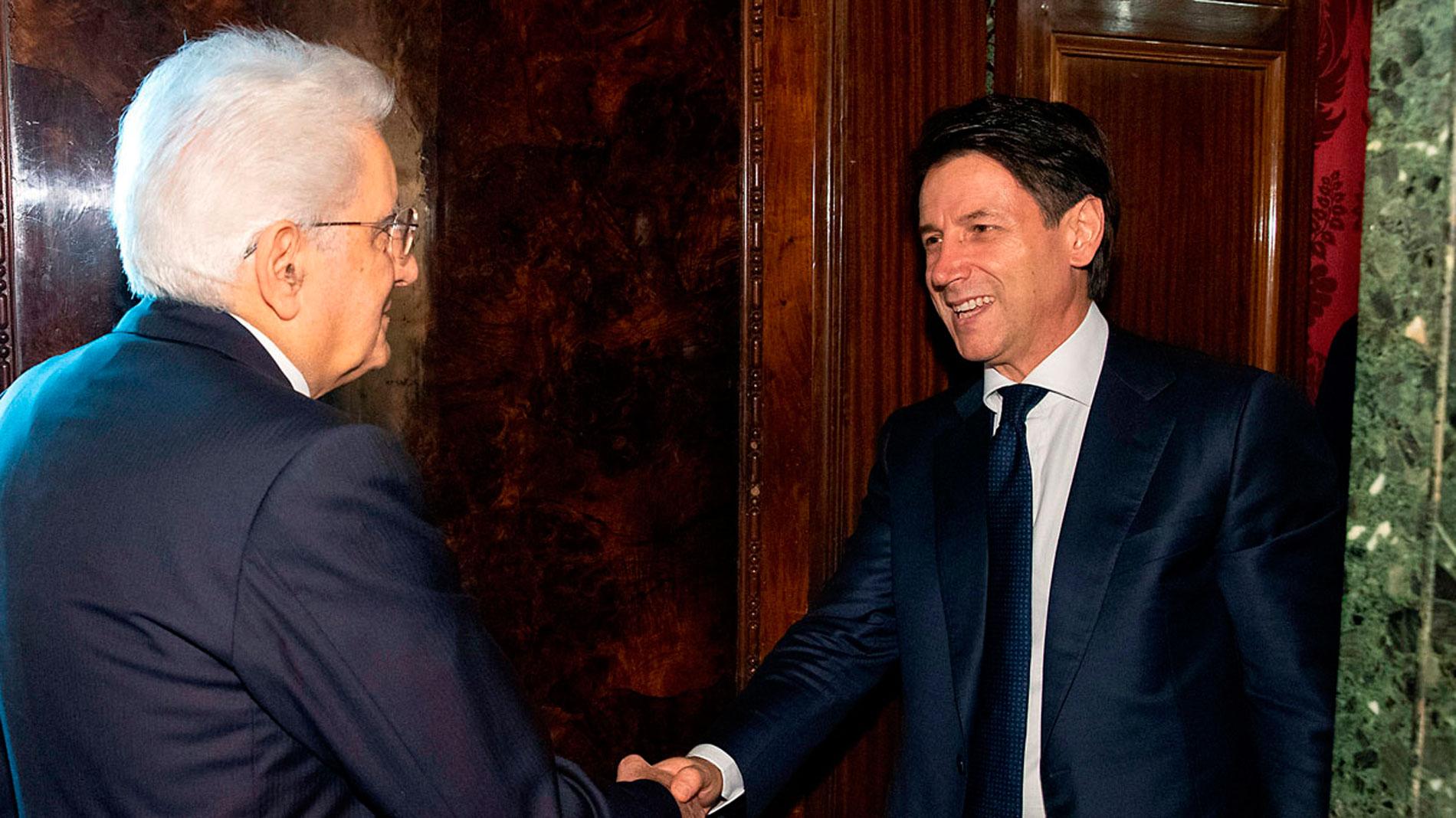 El jurista Guiseppe Conte renuncia a formar gobierno en Italia