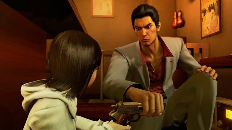 Kazuma Kiryu deberá defender a la pequeña huérfana de la Yakuza.