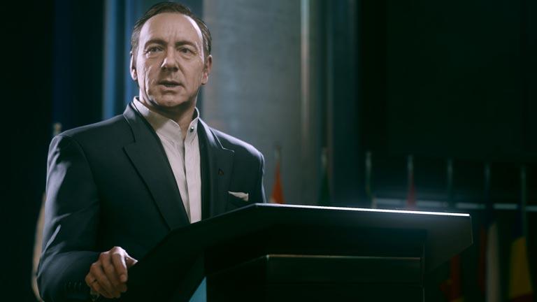 Kevin Spacey tendrá su réplica en la última entrega del videojuego Call of Duty